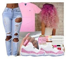 """Untitled #361"" by gabb-slayy ❤ liked on Polyvore featuring Polo Ralph Lauren and NIKE"