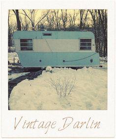 The Vintage Farmhouse: My $200 Vintage Camper