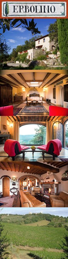 In the heart of Chianti Honeymoon Getaways, Stone Barns, In The Heart, How Beautiful, Italy Travel, Sunsets, Luxury Homes, Cities, Lemon