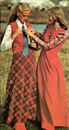 Fashion from The Answer Book: McCall's Guide to Carefree Sewing, 1972. I love this look I would wear it today!  jmp
