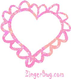 Glitter Graphics Hearts | Glitter Graphic Comment: Pink heart Glitter Graphic