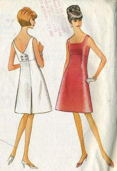1960s Vintage McCalls 8172 Misses High Waisted Mock by RomasMaison