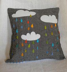Almofadas em formato de nuvens para as crianças - Dicas pra Mamãe