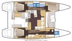 Lagoon 450 FlyBridge Kat Marina 3 cabins / 3 bathrooms