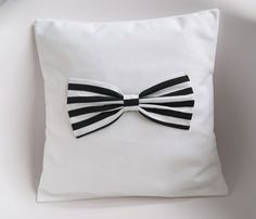 30 Small Sectional Sofas to Match with Various Designs and Style Small Sectional Sofa, Bow Pillows, Striped Cushions, Little Girl Rooms, Cute Bows, Shops, Quilt Cover, Cushion Covers, My Room