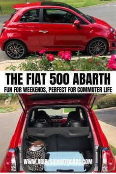 Hey City Girl: The Fiat 500 Might be The Perfect Car For You - A Girls Guide to Cars for teens Informations About Hey City Best Cars For Women, Best Cars For Teens, Suv Cars, Car Car, Jeep Cars, Fiat 500 Models, New Fiat, Car Buying Guide, Car Buyer