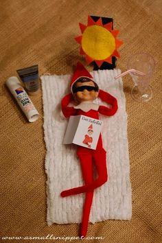 Fun Elf on the Shelf ideas!