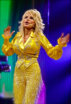 Dolly Parton Better Day Yellow