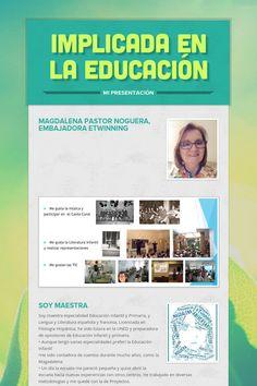 Implicada en  la educación Magdalena  Pastor