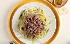 aprende cómo hacer Trapos de res y pepino en este post http://exquisitaitalia.com/trapos-de-res-y-pepino/ #recetas #recetasitalianas