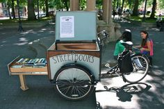 Bike-Powered Mobile Library in Chicago