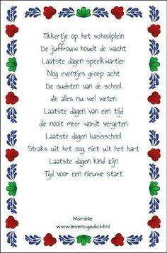 Gedicht groep 8