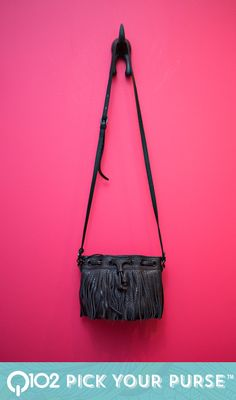 Rebecca Minkoff - Fringe micro lexi bucket. Go to wkrq.com to find out how to play Q102's Pick Your Purse!