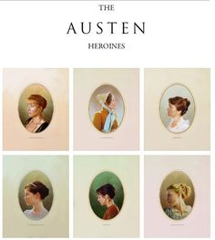 The AUSTEN heroines: Emma Thompson, Elinor Dashwood, Sense and Sensibility (´95) / Jennifer Ehle, Elizabeth Bennet, Pride and Prejudice (TV Mini-Series, BBC, ´95) / Amanda Root, Anne Elliott - Persuasion (´95) / Felicity Jones, Catherine Morland - Northanger Abbey directed by J. Jones (TV Movie, ´07) / Frances O'Connor, Fanny Price - Mansfield Park directed by Patricia Rozema (´99) / Romola Garai, Emma Woodhouse - Emma directed by Jim O'Hanlon (TV Mini-Series, ´09) #janeausten #fanart