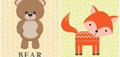 Descarga láminas para cuadros infantiles ¡gratis!