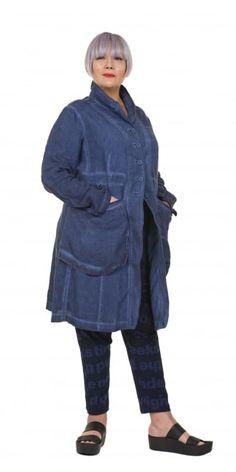 Rundholz Black Label Blueberry Linen Coat