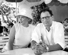 18/01/1957 Jamaïque: Déjeuner au Half Moon - Divine Marilyn Monroe