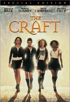 The Craft Movie Poster x 17 Inches - x Style B -(Robin Tunney)(Fairuza Balk)(Neve Campbell)(Rachel True)(Skeet Ulrich)(Helen Shaver) Teen Movies, Scary Movies, Great Movies, Horror Movies, Iconic 90s Movies, Teenage Movie, Awesome Movies, Teenage Years, Awesome Stuff