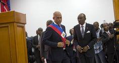 Martelly entregó el poder en Haití para que asuma un gobierno interino
