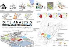 Analysis During week one our group worked and developed the site analysis.Site Analysis During week one our group worked and developed the site analysis. Site Development Plan Architecture, Site Analysis Architecture, Plans Architecture, Architecture Panel, Concept Architecture, Landscape Architecture, Landscape Plane, California Architecture, Architecture Background