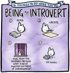 4 Things to do while Being an Introvert!