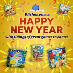Happy New Year! New Year & New Games! :) @blueorangegames