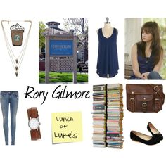 """Rory Gilmore"" by sally-plouffe-writerr on Polyvore"