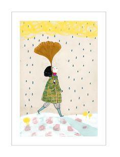 gingko leaf umbrella