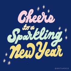 Cheers to a Sparkling New Year! Happy New Year! Cheers to 🤗✨🥂 We can't wait to see what this year brings. Sending love to you and yours! Happy New Year Message, Happy New Year Images, Happy New Year Quotes, Quotes About New Year, Silly Love, Happy Love, Words Quotes, Book Quotes, Cheer Quotes