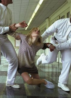 When a sick patient refuses hospital and we insist her go ✚