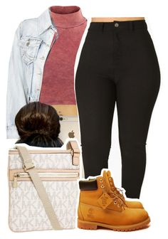 1213 by ashley-mundoe on Polyvore featuring Influence, Timberland and Michael Kors
