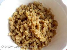 Recept na domácí halušky, které můžete vylepšit třeba špaldovou moukou. Není to nic složitého. Breakfast, Food, Morning Coffee, Essen, Meals, Yemek, Eten