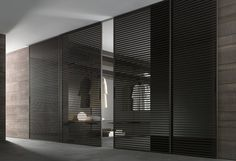 Discover the ultimate collection of Rimadesio systems, doors, and more at Haute Living; the premier Rimadesio furniture dealer in Chicago, NYC, and beyond. Bedroom Doors, Closet Bedroom, Master Bedroom, Garderobe Modern Design, Room Door Design, House Design, Closet Door Alternative, Closet Door Hardware, Door Hinges
