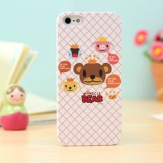 This is a brand New Wingcle Bear Wingcle Bear iphone 5 case Matte hard textired ultra thin skin protective case cover for iphone 5.That could be a wonderful amazing fantastic gift for your friends and yourself! Soft matte feeling on hand, also the textired pics feels so great!