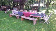 Chamonix garden party