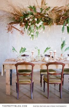 A Winter's Tale Inspired by Copper and Champagne | Styled Shoots | The Pretty Blog