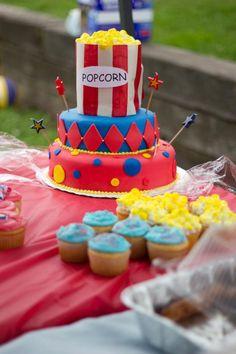 Carnival themed birthday cake...by Tara Ney