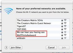 funny wifi network names Funny Animal Quotes, Funny Quotes, Funny Memes, Hilarious Animals, Hilarious Sayings, Memes Humor, Funny Wifi Names, Teenager Quotes, Teenager Posts