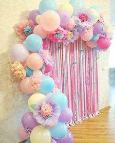 """2,604 Likes, 32 Comments - Inspire sua Festa ® (@inspiresuafesta) on Instagram: """"Via @piradaemfesta  Simplesmente apaixonada por balões e flores!! Genteeee, olhem isso!?Combinação…"""""""