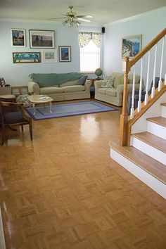 Your guide to parquet flooring diy network apartment makeover and living room parquet floor white kitchen makeover on a budget diy remodel from solutioingenieria Gallery