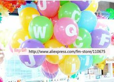 Image detail for -... / birthday party balloon alphabet letter balloons/wedding decoration