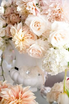 peach florals....
