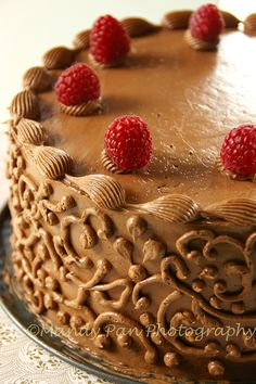 chocolate cake by Fresh From The Oven 606, via Flickr