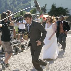 Doctor Who The Runaway Bride - David as Ten and Catherine as Donna Noble