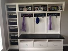 Hemnes Entryway Hack - IKEA Hackers - a possibility for our room