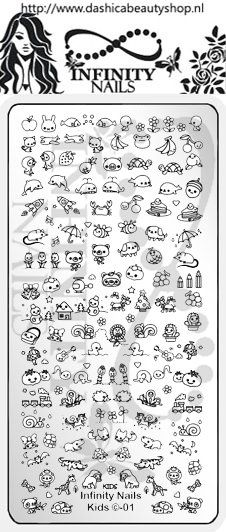 24 Best Nail Art Stamping Plates Animals Images On Pinterest