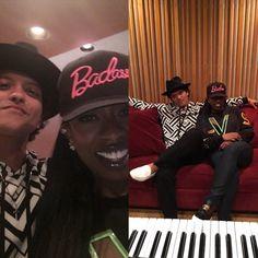 Bruno Mars and Missy Elliot