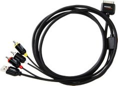 Amazon.com: AmazonBasics 6.5-Foot/2-Meter Composite AV Cable for Apple iPhone/iPad/iPod: MP3 Players & Accessories