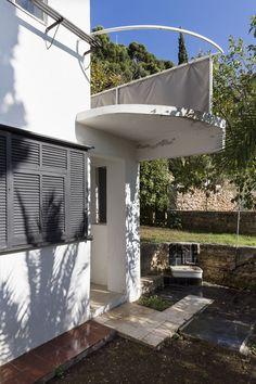 seaside house e 1027 eileen gray and jean badovici 1929 roquebrune cap martin france. Black Bedroom Furniture Sets. Home Design Ideas