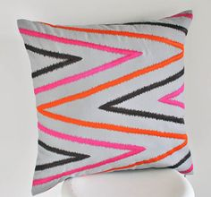Chevron Throw Pillow Cover Decorative Pillow Couch by KainKain